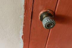 Vecchia maniglia della porta Immagine Stock