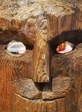 vecchia maschera indiana Fotografia Stock Libera da Diritti