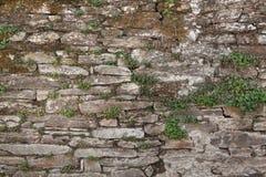 Vecchia massoneria di pietra Fotografia Stock