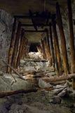 Vecchia miniera Fotografie Stock Libere da Diritti