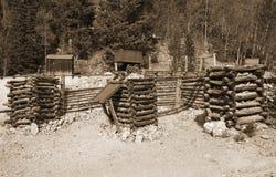 Vecchia miniera fotografia stock