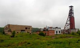Vecchia miniera abbandonata Fotografie Stock Libere da Diritti