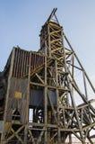 Vecchia miniera abbandonata situata in Victor Colorado Fotografia Stock Libera da Diritti