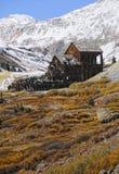 Vecchia miniera rustica fotografie stock