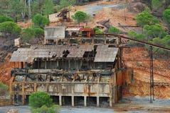 Vecchia miniera (spagna) Fotografia Stock Libera da Diritti