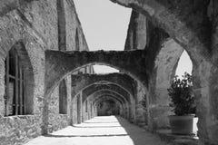 Vecchia missione a San Antonio fotografia stock libera da diritti