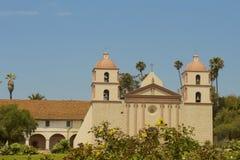 Vecchia missione Santa Barbara CA Immagini Stock