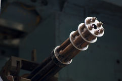 Vecchia mitragliatrice dalla guerra di Vietnam Immagine Stock Libera da Diritti