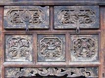 Vecchia mobilia Fotografia Stock