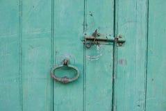 Vecchia mobilia della porta Fotografie Stock