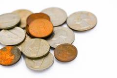 Vecchia moneta Fotografie Stock