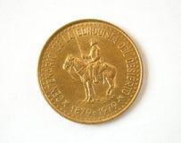 Vecchia moneta dell'Argentina Fotografia Stock Libera da Diritti
