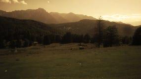 Vecchia montagna Immagine Stock Libera da Diritti