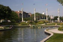 Vecchia Montreal in estate Fotografie Stock Libere da Diritti