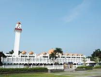 Vecchia moschea (chiesa di Islam) in Malesia Fotografia Stock Libera da Diritti