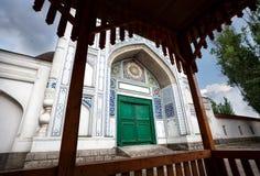 Vecchia moschea nel Kazakistan del sud Fotografia Stock