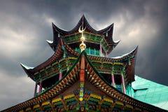 Vecchia moschea nel Kazakistan del sud Fotografia Stock Libera da Diritti