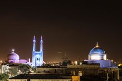 Vecchia moschea in Persia Fotografie Stock
