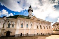 Vecchia moschea sulla via Immagine Stock Libera da Diritti