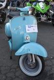 Vecchia mostra dei motocicli Fotografia Stock