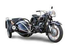 Vecchia motocicletta Immagini Stock