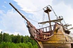 Vecchia nave Immagini Stock Libere da Diritti