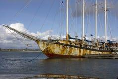 Vecchia nave Immagine Stock Libera da Diritti