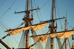 Vecchia nave - Batavia Immagini Stock