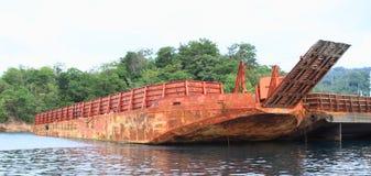 Vecchia nave del trasporto Fotografie Stock Libere da Diritti