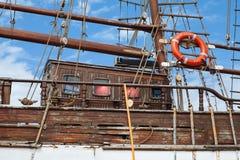 Vecchia nave di legno Fotografie Stock