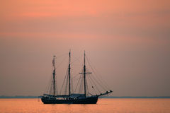 Vecchia nave di navigazione Immagine Stock Libera da Diritti