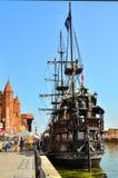 vecchia nave di navigazione Immagini Stock Libere da Diritti