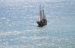 vecchia nave di navigazione Fotografie Stock Libere da Diritti