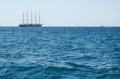 Vecchia nave storica della vela Fotografia Stock Libera da Diritti