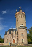 Vecchia neo torretta di osservazione gotica Fotografie Stock