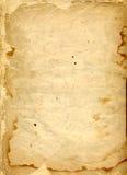 Vecchia pagina Immagini Stock