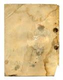 Vecchia pagina del libro antico Fotografia Stock Libera da Diritti
