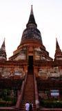 Vecchia pagoda di religione Fotografie Stock Libere da Diritti