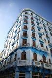 Vecchia palazzina di appartamenti alta Avana Fotografia Stock Libera da Diritti