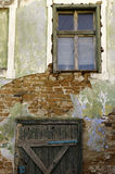 Vecchia parete Fotografie Stock