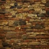 Vecchia parete Immagini Stock Libere da Diritti