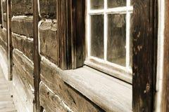 Vecchia parete Fotografia Stock Libera da Diritti