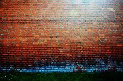 Vecchia parete arancio del fondo immagine stock libera da diritti
