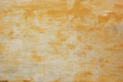 Vecchia parete arancione Immagini Stock Libere da Diritti