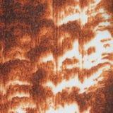 Vecchia parete arrugginita del metallo fotografie stock