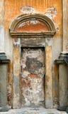 Vecchia parete in chiesa fotografia stock libera da diritti