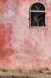 Vecchia parete con il posto adatto Immagini Stock