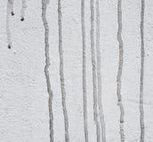 Vecchia parete con le macchie di una sporcizia del nero immagine stock libera da diritti