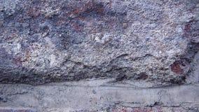 Vecchia parete con muratura antica, fondo del mattone video d archivio