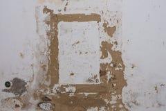 Vecchia parete con una struttura Immagini Stock Libere da Diritti